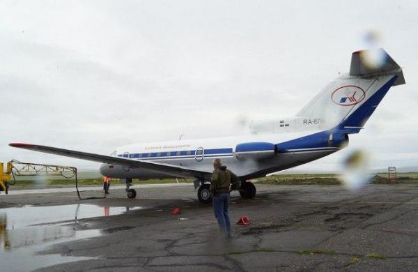 Камчатское авиапредприятие выделило Як-40 для перевозок из Тувы